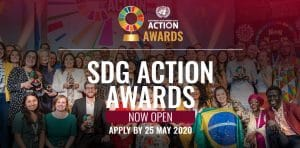 Ankündigung der 2020 UN SDG Action Awards