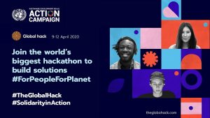 Solidarity in Action: UN SDG Action Campaign supports Global Hackathon for global solutions