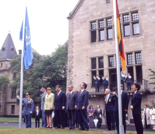 Photo of the First UN Building in Bonn