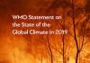 WMO Provisional Statement on the State of the Global Climate in 2019