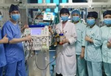 Staff of the Department of Critical Care Medicine, Guangdong Medical University.