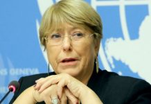 Michelle Bachelet, human rights