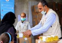 With COVID-19 containment measures limiting people's movement in Syria, the World Food Programme (WFP) has introduced measures to ensure that people receive their entitlements in as safe a way as possible..