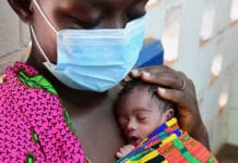 UNICEF is helping to protect vulnerable babies in Côte d'Ivoire from the impact of the coronavirus pandemic.