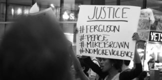 Six years before George Floyd was killed in police custody in the city of Minneapolis, protestors in New York City demonstrated against the police shooting of Michael Brown.