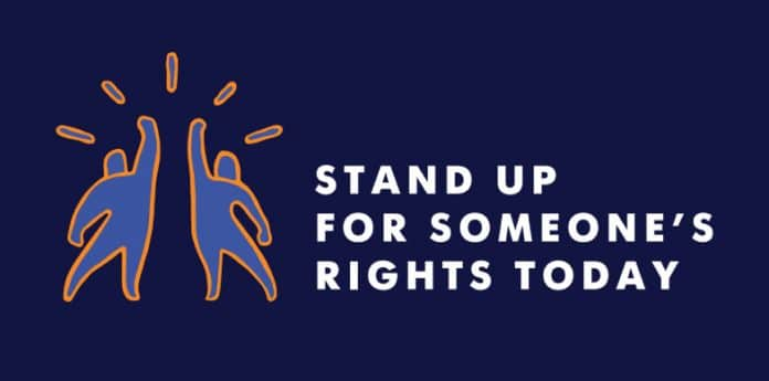 Stand up for someone's Rights Today, 2016, Human RIghts Day