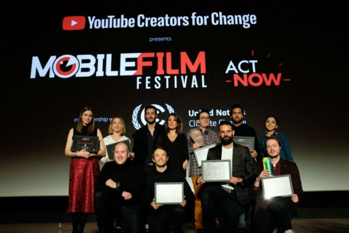 Mobile Film Festival winners