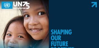 UN75 shaping our future together