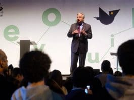 UNSG António Guterres speaking at European Green Capital ceremony in Lisbon, Portugal