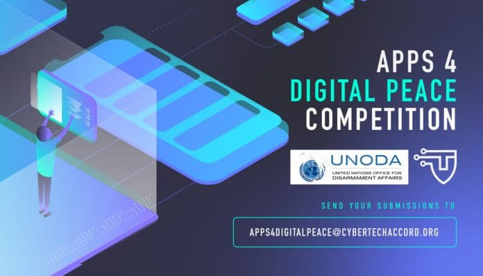 APPS 4 Digital Peace competition (UNODA) banner