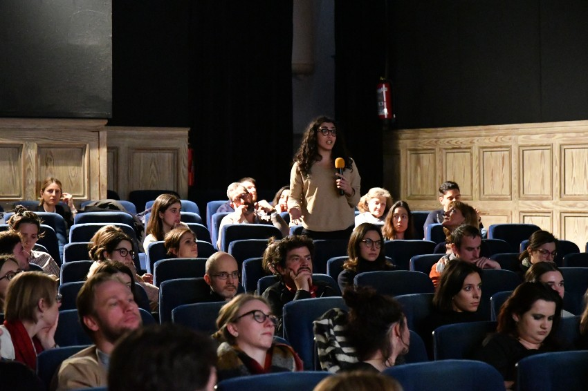 Wildlife Day screening of Sea of Shadows, questions from the audience