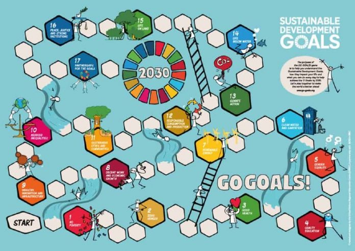 image of Go Goals board game