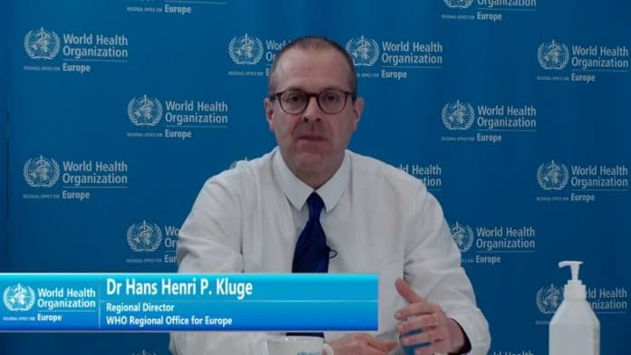 Dr Hans Kluge, WHO Regional Director, Office for Europe