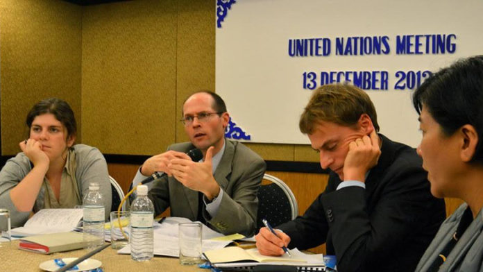 Olivier de Schutter during Malaysia mission in 2012