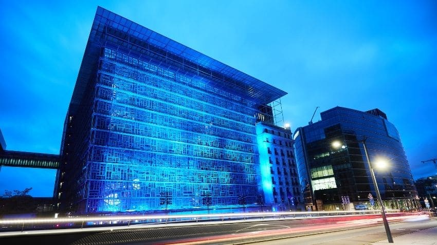 European Council, Europa building