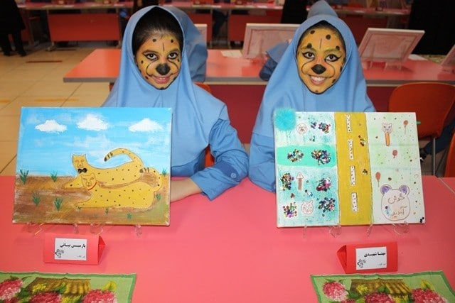 Children and their drawings in Iran | Photo: UNDP Iran