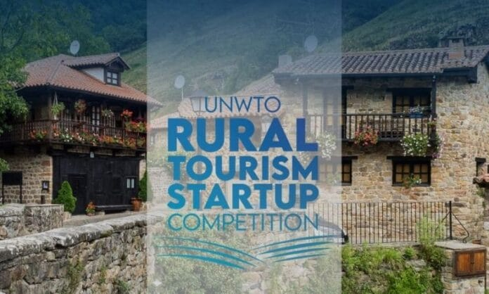 UNWTO Rural Tourism Startup Competition banner