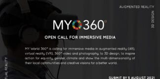 SDG Action Campaign's call to submit MY World 360 media, banner