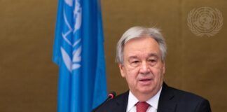 United Nations Secretary-General António Guterres