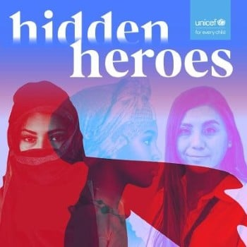 Hidden Heroes podcast cover image