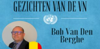 Faces of the UN Bob Van den Berghe