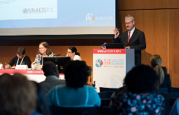 Henk Van Renterghem at UNAIDS Conference
