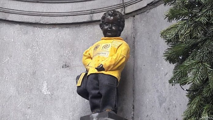 Manneken Pis Internationale Dag van Migranten