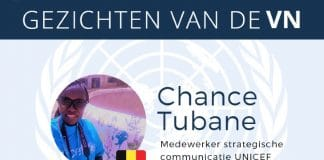 Chance Tubane Faces of the UN