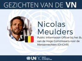 Faces of the UN Nicolas Meulders