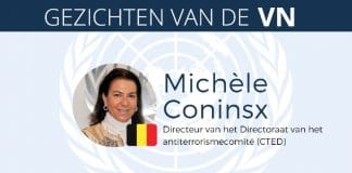 Michèle Coninsx Faces of the UN